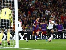 GBR: Fußball verficht Liga-Schluss 2011 Lizenzfreie Stockfotografie