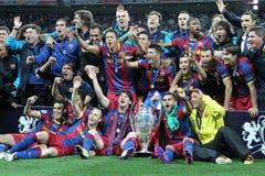 GBR: Futbolowy champions league finał 2011 zdjęcie royalty free