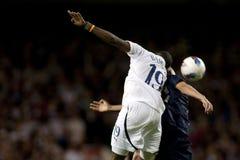 GBR: Futbolowy UEFA Europa liga, Tottenham v serca 25/08/2011 Zdjęcie Royalty Free