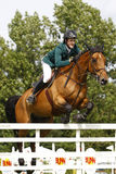 GBR: L'equites Hickstead salta il derby 2011 Immagine Stock
