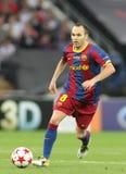 GBR : Le football soutient la finale 2011 de ligue Image libre de droits