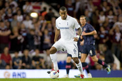 GBR: Liga del Europa de la UEFA del fútbol, corazones 25/08/2011 de Tottenham v Fotografía de archivo libre de regalías