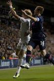 GBR: Liga del Europa de la UEFA del fútbol, corazones 25/08/2011 de Tottenham v Fotos de archivo