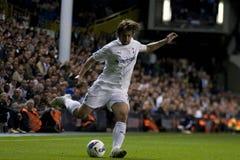 GBR: Liga do Europa do UEFA do futebol, corações 25/08/2011 de Tottenham v Fotos de Stock Royalty Free
