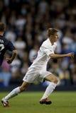 GBR: Liga do Europa do UEFA do futebol, corações 25/08/2011 de Tottenham v Foto de Stock