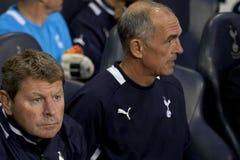 GBR: Liga do Europa do UEFA do futebol, corações 25/08/2011 de Tottenham v Foto de Stock Royalty Free