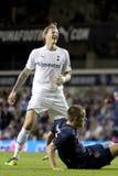 GBR: Liga do Europa do UEFA do futebol, corações 25/08/2011 de Tottenham v Imagens de Stock