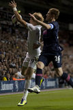GBR : Ligue d'Europa de l'UEFA du football, coeurs 25/08/2011 de Tottenham v Photos stock