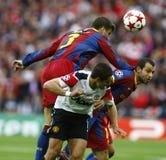 GBR: O futebol patrocina o final 2011 da liga Fotos de Stock