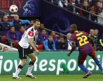 GBR: O futebol patrocina o final 2011 da liga Imagens de Stock