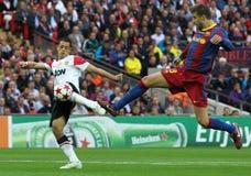 GBR: O futebol patrocina o final 2011 da liga Imagem de Stock Royalty Free