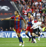 GBR: O futebol patrocina o final 2011 da liga Imagem de Stock