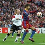 GBR: O futebol patrocina o final 2011 da liga Fotografia de Stock Royalty Free