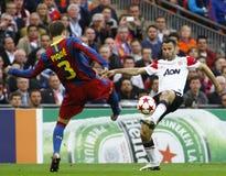 GBR: O futebol patrocina o final 2011 da liga Fotografia de Stock