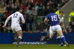 GBR: Rugby Union England Vs Samoa Royalty Free Stock Images