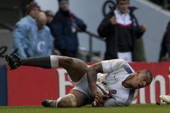 GBR Rugby Union England Vs South Africa Stock Photography