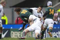 GBR Rugby Union England Vs South Africa Royalty Free Stock Photo