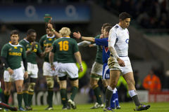 GBR rugby Zrzeszeniowy Anglia Vs Południowa Afryka Fotografia Royalty Free