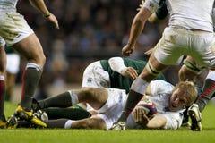 GBR rugby Zrzeszeniowy Anglia Vs Południowa Afryka Obrazy Stock