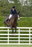 GBR: Ryttaren Hickstead hoppar derbyt 2011 Royaltyfri Foto