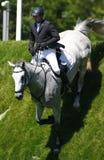 GBR : Saut équestre Derby 2011 de Hickstead Photo stock