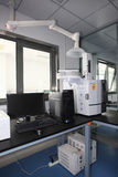 GC-2014 Standardowa kapilara i Pakujący Benzynowy chromatograf Obraz Royalty Free