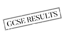 Gcse Results rubber stamp Royalty Free Stock Image