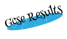 Gcse Results rubber stamp Royalty Free Stock Photography
