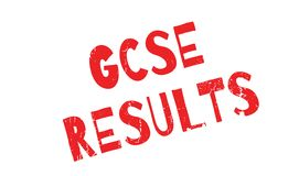 Gcse Results rubber stamp Royalty Free Stock Photos