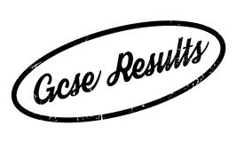 Gcse Results rubber stamp Royalty Free Stock Images