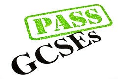 GCSEs PASSED. Passing your GCSE examinations Royalty Free Stock Photo