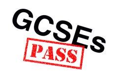 GCSEs passerande stock illustrationer