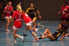 GCUP 2013年手球。格拉诺列尔斯。 图库摄影