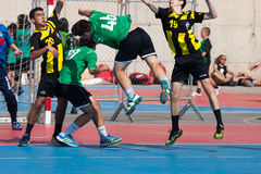 GCUP 2013 Handball. Granollers. Royalty Free Stock Photography