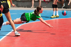 GCUP 2013 Handball. Granollers. Royalty Free Stock Photo