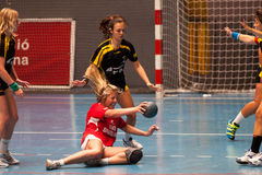 GCUP 2013 Handball. Granollers. Stock Photography