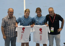 GCUP 2013 Handball. Granollers. Royalty Free Stock Images