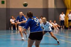 GCUP-handboll 2013. Granollers. Arkivfoto