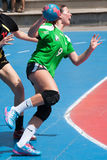GCUP-handboll 2013. Granollers. Royaltyfri Foto