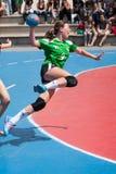 GCUP-handboll 2013. Granollers. Arkivfoton