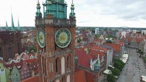 "GdaÅ ""的sk,圣玛丽主要城镇厅GaÅ ""的sk ` s教会 股票录像"