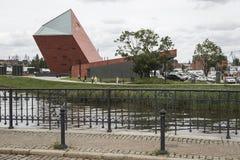 GDAŃSKI, POLSKA, SIERPIEŃ - 04, 2017: Muzeum Drugi wojna światowa Obrazy Royalty Free