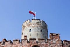 Gdański, Polska, Sierpień 27, 2016: Wisloujscie forteca - Polski historyczny fort Fotografia Stock