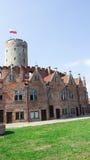 Gdański, Polska, Sierpień 27, 2016: Wisloujscie forteca - Polski historyczny fort Zdjęcie Stock