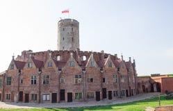 Gdański, Polska, Sierpień 27, 2016: Wisloujscie forteca - Polski historyczny fort Obrazy Royalty Free