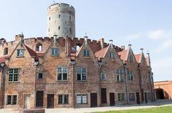 Gdański, Polska, Sierpień 27, 2016: Wisloujscie forteca - Polski historyczny fort Obraz Royalty Free