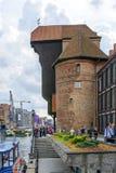Gdański historyczny stary miasteczko Zdjęcia Royalty Free