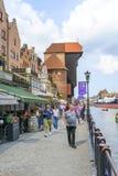 Gdański historyczny stary miasteczko Zdjęcie Royalty Free