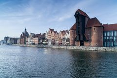 Gdański Stary miasteczko, Polska Zdjęcia Royalty Free