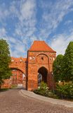 Gdanisko tower (XIV c.) of Teutonic Order castle. Torun, Poland Stock Photos